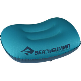 Sea to Summit Aeros Ultralight Kussen Regular, turquoise/blauw